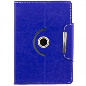 Чехол-книжка 7 дюймов с разворотом, уголки-магнит синий в Одессе