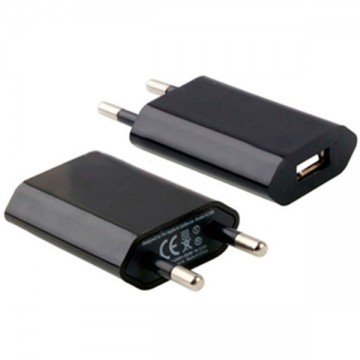 Сетевое зарядное устройство Apple 1USB 1.0A black без коробки в Одессе