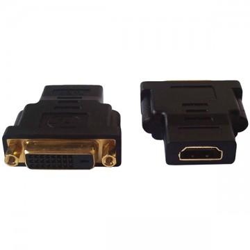 Переходник HDMI-DVI F/F черный в Одессе