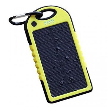 Solar Charger ES500 Power Bank 5000 mAh желто-черный в Одессе