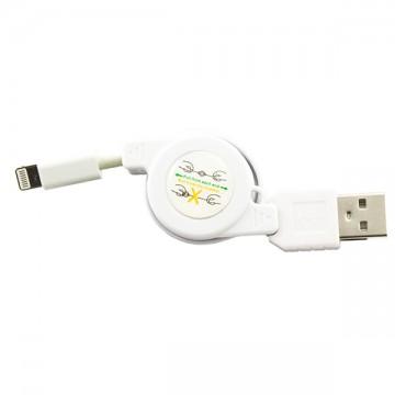 USB кабель рулетка iPhone 5S белый в Одессе