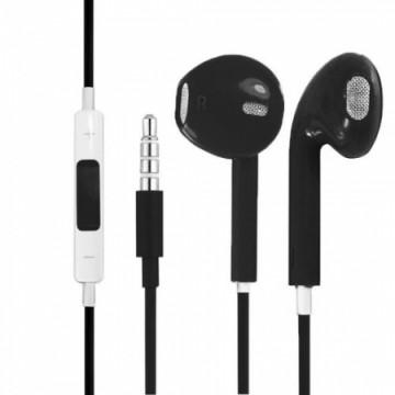 Наушники с микрофоном Apple EarPods для iPhone 5 черные в Одессе