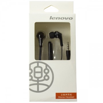 Наушники с микрофоном Lenovo P780 black в Одессе