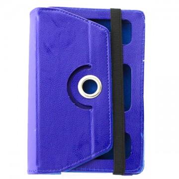 Чехол-книжка 7 дюймов с разворотом, рамка-резинка синий в Одессе