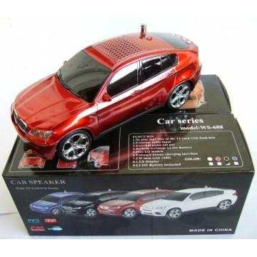Портативная колонка BMW-X6 WS-688 red в Одессе