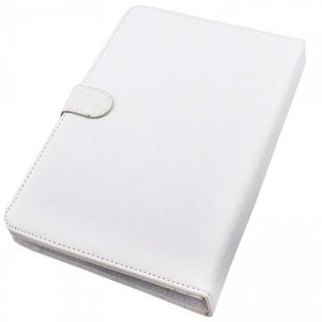 Чехол-клавиатура 10 дюймов уголки-магнит Micro USB + OTG белый в Одессе