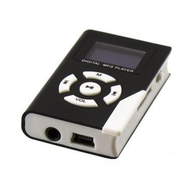 MP3 плеер с дисплеем, корпус металл Черный в Одессе