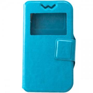 Универсальный чехол-книжка Case слайдер 4.5″ голубой в Одессе