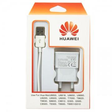 Сетевое зарядное устройство HUAWEI ETAOU80EBE 1USB 1.0A white в Одессе