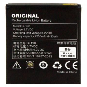 Аккумулятор Lenovo BL198 2250 mAh A678t, A850, S860, S890 AAA класс тех.пакет в Одессе