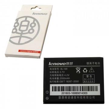 Аккумулятор Lenovo BL169 2000 mAh P70, A789, S560, P800 AAA класс коробка в Одессе