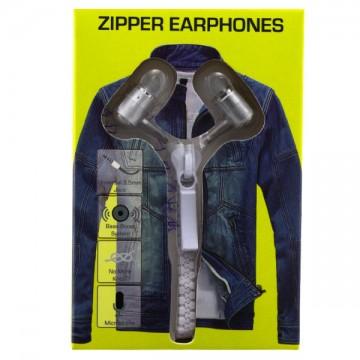Наушники с микрофоном Zipper yellow puck белый в Одессе