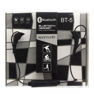 Bluetooth наушники с микрофоном BT-5 черные в Одессе
