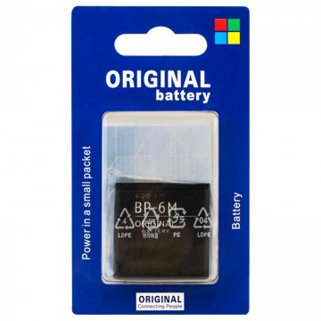 Аккумулятор Nokia BP-6M 1100 mAh 3250, 6151, 6233 AA/High Copy блистер в Одессе