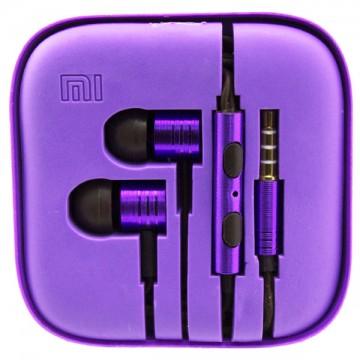 Наушники с микрофоном Xiaomi Huosai Piston V2 фиолетовые в Одессе