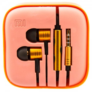 Наушники с микрофоном Xiaomi Huosai Piston V2 оранжевые в Одессе