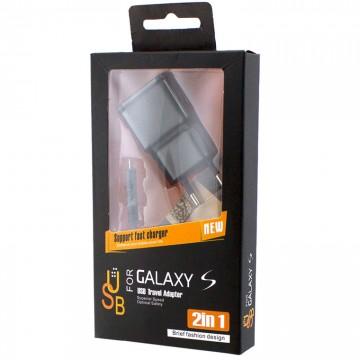 Сетевое зарядное устройство Samsung ETA-U90EWE 2in1 2.4A micro-USB black в Одессе