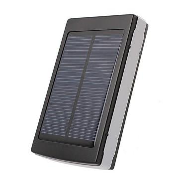 Power Bank Xiaomi 25000 mAh Solar + LED панель черный в Одессе