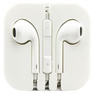 Наушники с микрофоном iPhone 5 Earpods белые в Одессе