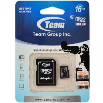 Карта памяти Team 16GB 10 Class MicroSD + SD adapter в Одессе