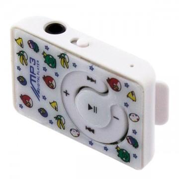 MP3 плеер Angry birds 006 Белый в Одессе