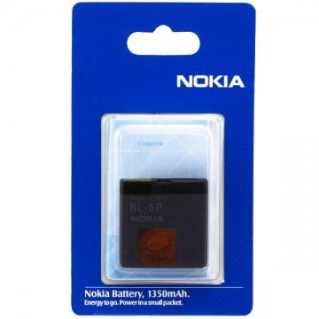 Аккумулятор Nokia BL-6P 830 mAh 6500, 7900 AAA класс блистер в Одессе