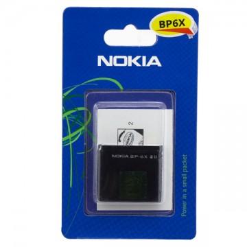 Аккумулятор Nokia BP-6X 700 mAh 8800, 8800 Sirocco AA/High Copy блистер в Одессе
