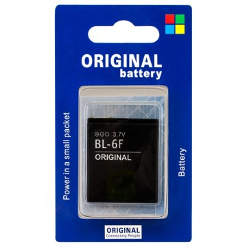 Аккумулятор Nokia BL-6F 1200 mAh N95, N78, N79 AA/High Copy блистер в Одессе