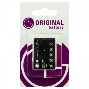Аккумулятор LG LGIP-430N 900 mAh GS290, GW300, S367 AA/High Copy блистер в Одессе