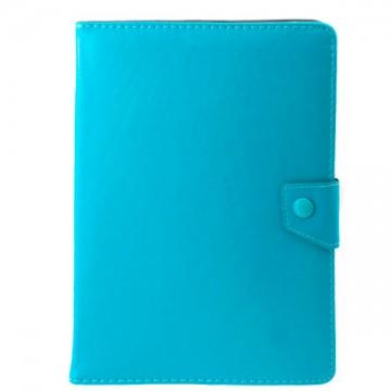 Чехол-книжка 10 дюймов уголки-магнит NEW голубой в Одессе