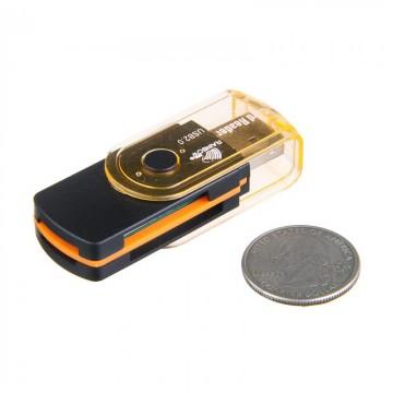 Картридер USB Card Reader 4in1 2.0 black в Одессе