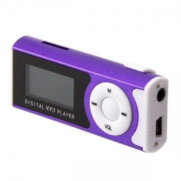 MP3 плеер с дисплеем и фонариком 339 Фиолетовый в Одессе