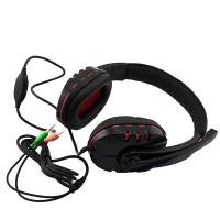 Наушники с микрофоном MK-782 черные