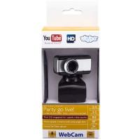 Веб-камера BCIT A3 черно-серебристая
