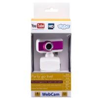Веб-камера BCIT A3 бело-розовая