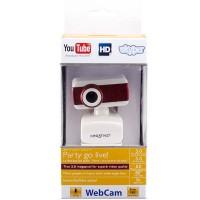 Веб-камера BCIT A3 бело-красная