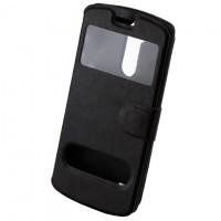 Чехол-книжка два окна LG G3 Mini черный
