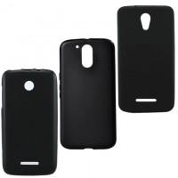 Чехол силиконовый цветной LG C40 LTE, Leon H340, H324 черный
