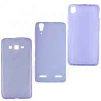 Чехол силиконовый цветной LG G3 Mini фиолетовый