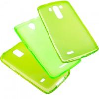 Чехол силиконовый цветной LG G3 Mini зеленый