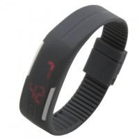 Часы наручные LED Watch A001 серые