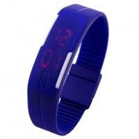 Часы наручные LED Watch A001 синие