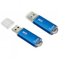 USB Флешка 8GB Smartbuy V-Cut Blue
