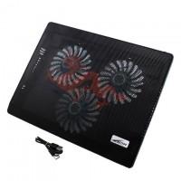Подставка для ноутбука Lengzhiwang A500 черная