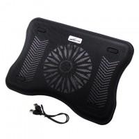 Подставка для ноутбука Lengzhiwang A600 черная