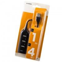 USB Hub XD4 4 PORT 0.5m black