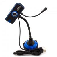 Веб-камера с подсветкой Iyigle черно-синяя