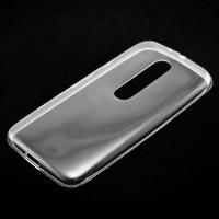 Чехол силиконовый Slim Motorola Moto X3 прозрачный