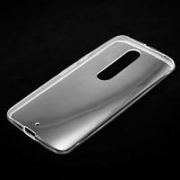 Чехол силиконовый Slim Motorola Moto X Style прозрачный