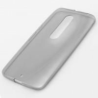 Чехол силиконовый Slim Motorola Moto X Style затемненный